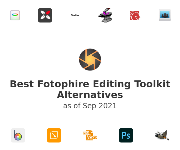 Best Fotophire Editing Toolkit Alternatives