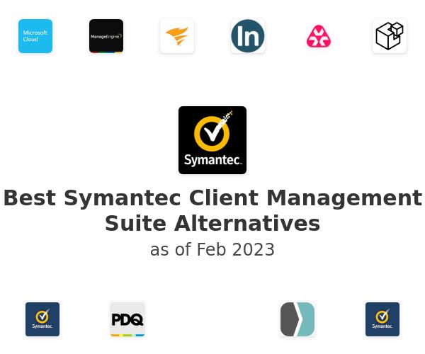 Best Symantec Client Management Suite Alternatives