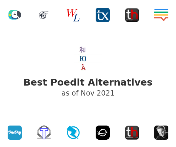Best Poedit Alternatives