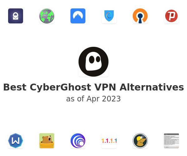 Best CyberGhost VPN Alternatives