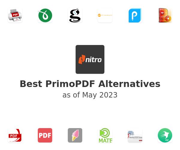 Best PrimoPDF Alternatives