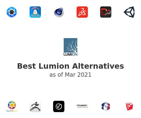 Best Lumion Alternatives