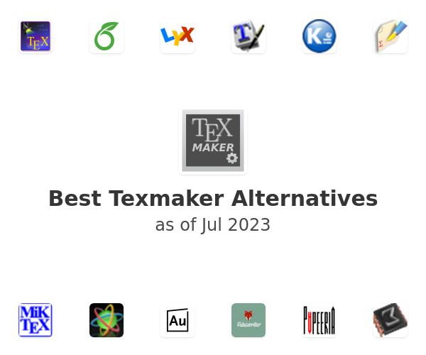 Best Texmaker Alternatives
