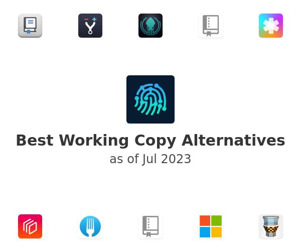 Best Working Copy Alternatives