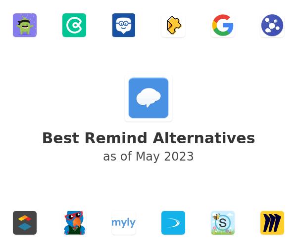 Best Remind Alternatives