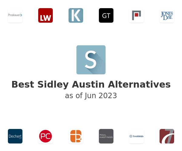 Best Sidley Austin Alternatives