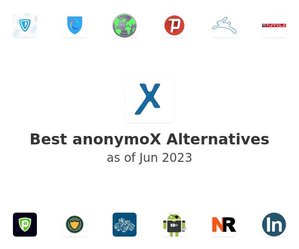 Best anonymoX Alternatives