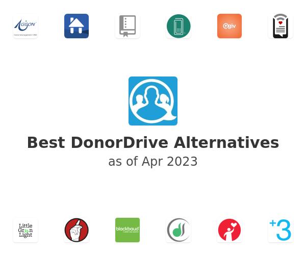 Best DonorDrive Alternatives
