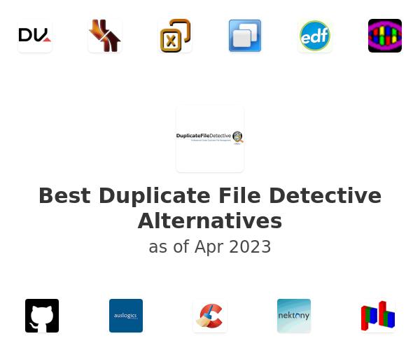 Best Duplicate File Detective Alternatives