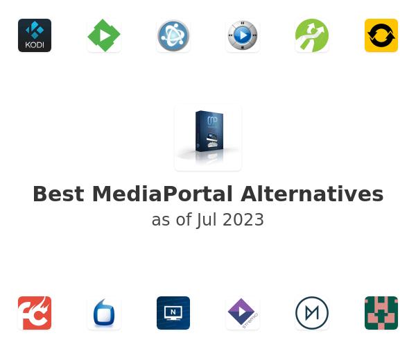 Best MediaPortal Alternatives