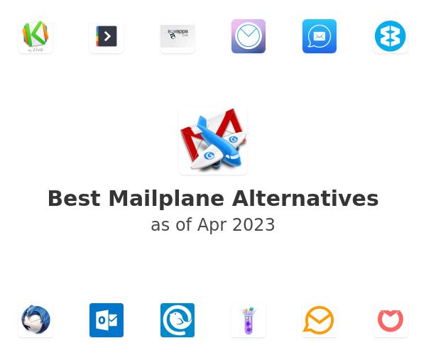 Best Mailplane Alternatives