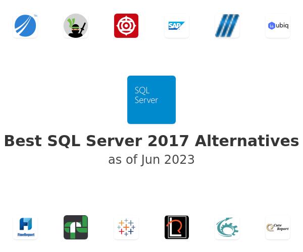 Best SQL Server 2017 Alternatives