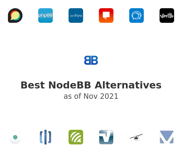 Best NodeBB Alternatives