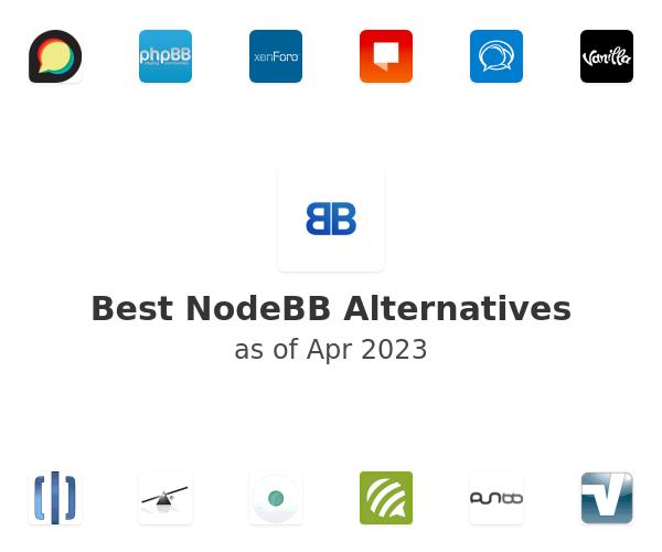 Best NodeBB Alternatives