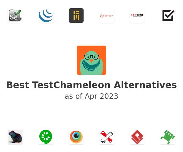 Best TestChameleon Alternatives