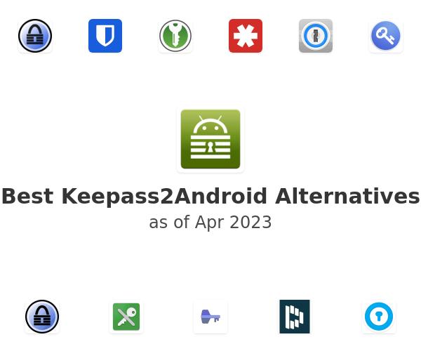 Best Keepass2Android Alternatives