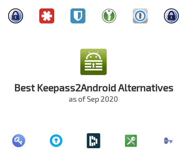 Best Keepass2Android Alternatives