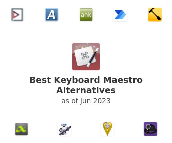 Best Keyboard Maestro Alternatives