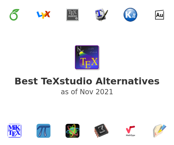 Best TeXstudio Alternatives
