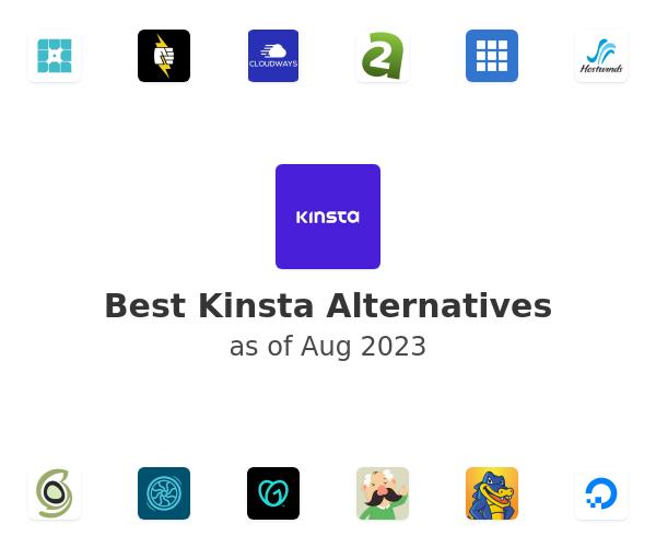 Best Kinsta Alternatives
