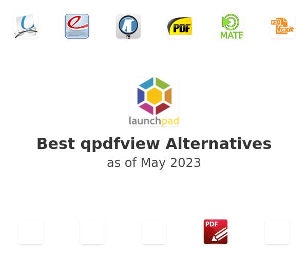 Best qpdfview Alternatives