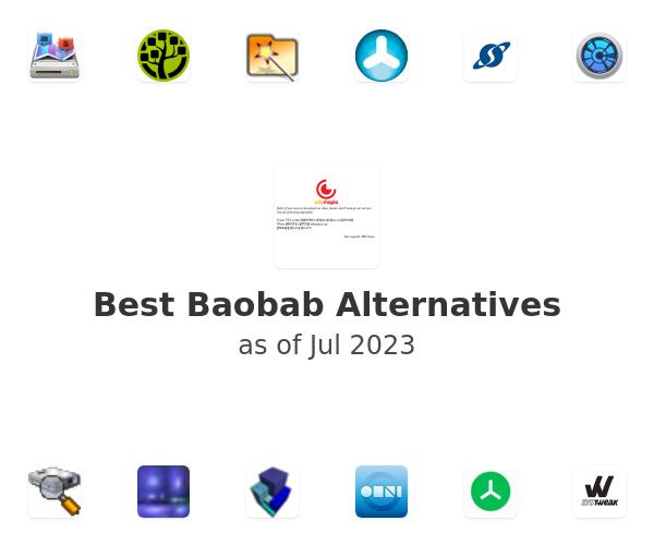 Best Baobab Alternatives