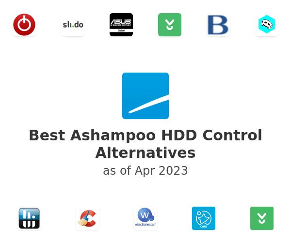 Best Ashampoo HDD Control Alternatives