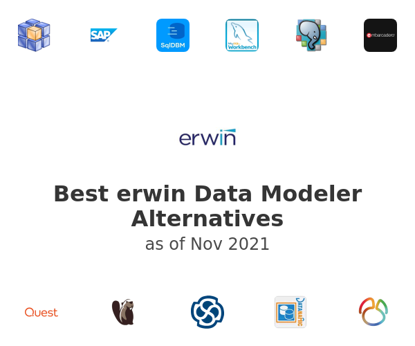 Best erwin Data Modeler Alternatives