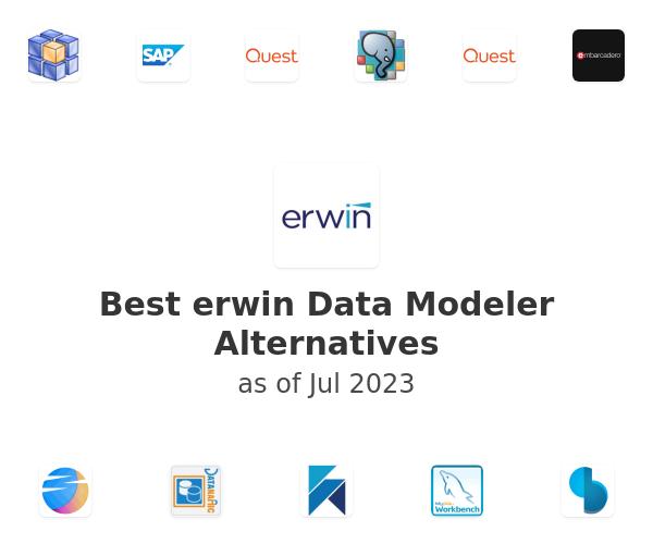 Best erwin Data Modeler Alternatives