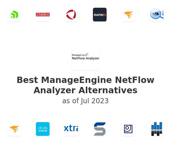 Best ManageEngine NetFlow Analyzer Alternatives