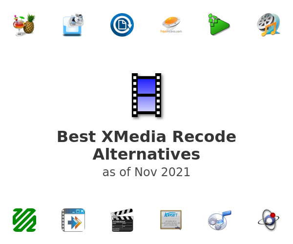 Best XMedia Recode Alternatives