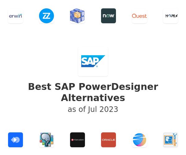 Best SAP PowerDesigner Alternatives