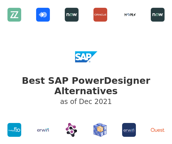 Best SAP PowerDesigner Alternatives