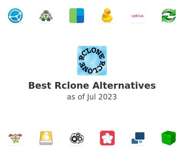 Best Rclone Alternatives