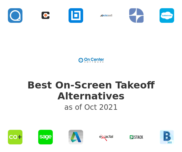 Best On-Screen Takeoff Alternatives