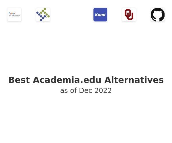 Best Academia.edu Alternatives