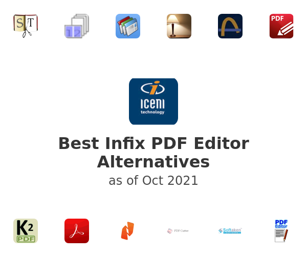 Best Infix PDF Editor Alternatives