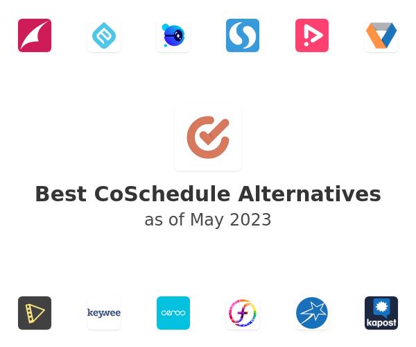 Best CoSchedule Alternatives