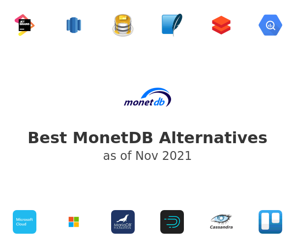 Best MonetDB Alternatives
