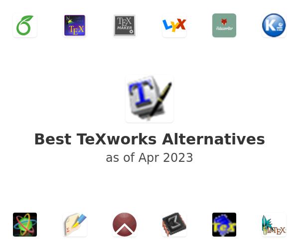 Best TeXworks Alternatives