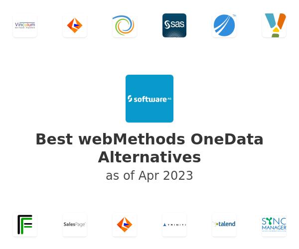 Best webMethods OneData Alternatives
