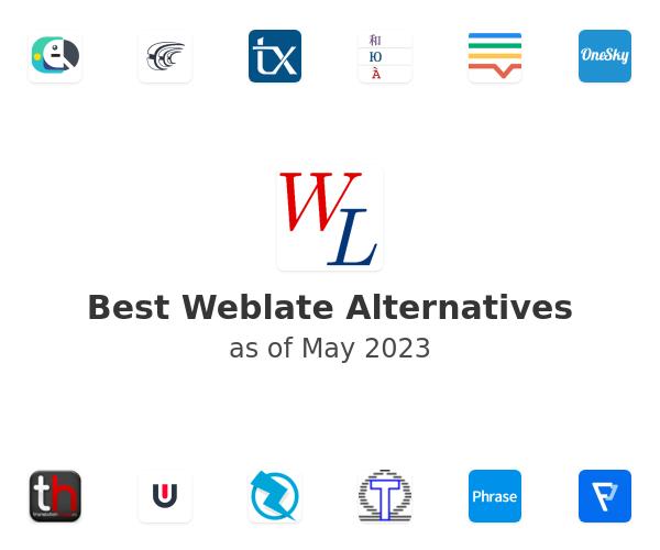 Best Weblate Alternatives