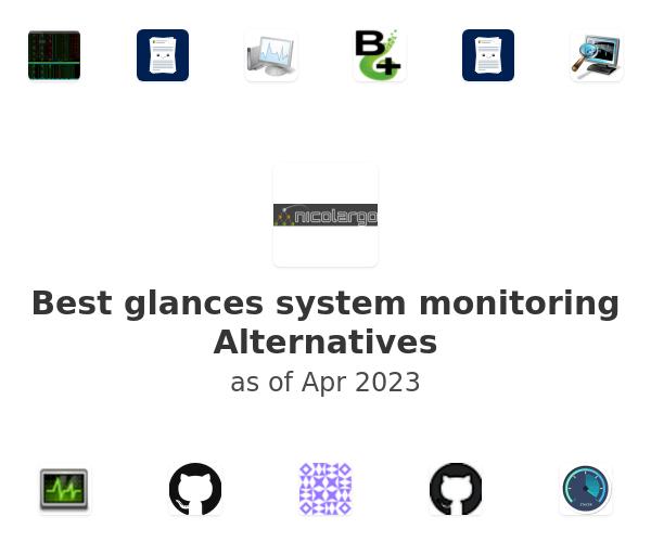 Best glances system monitoring Alternatives