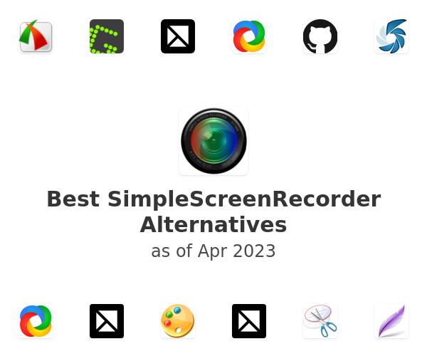 Best SimpleScreenRecorder Alternatives