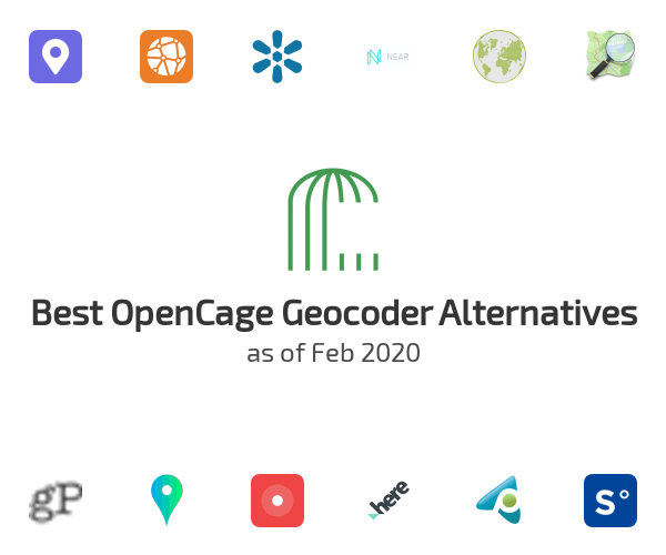 Best OpenCage Geocoder Alternatives