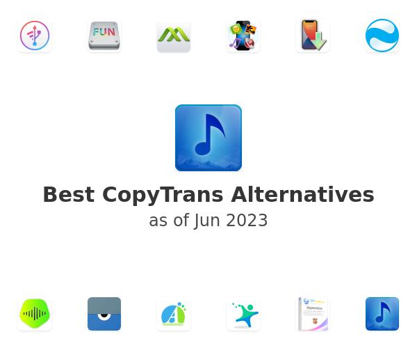 Best CopyTrans Alternatives