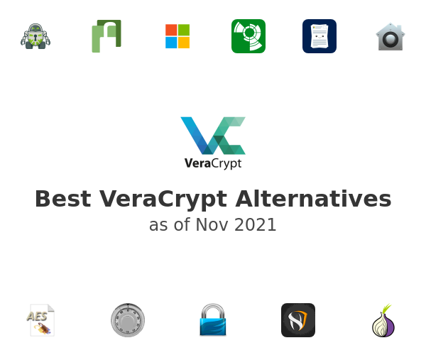 Best VeraCrypt Alternatives