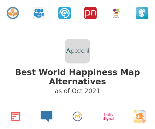 Best World Happiness Map Alternatives