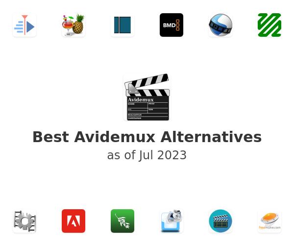 Best Avidemux Alternatives
