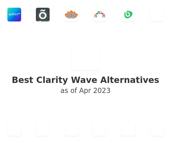 Best Clarity Wave Alternatives